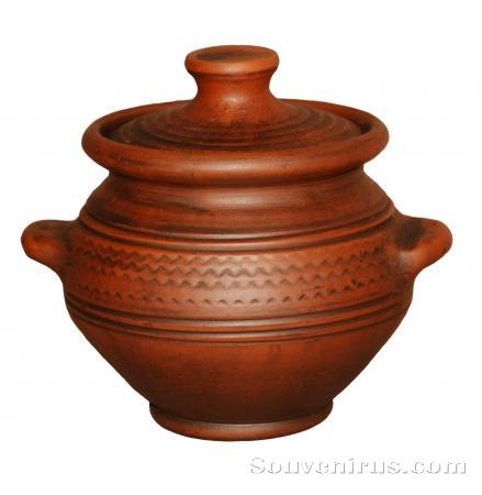 горшочек для жаркого, горшочек для запекания, посуда для запекания, обварная керамика