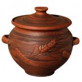 глиняная супница, керамическая супница